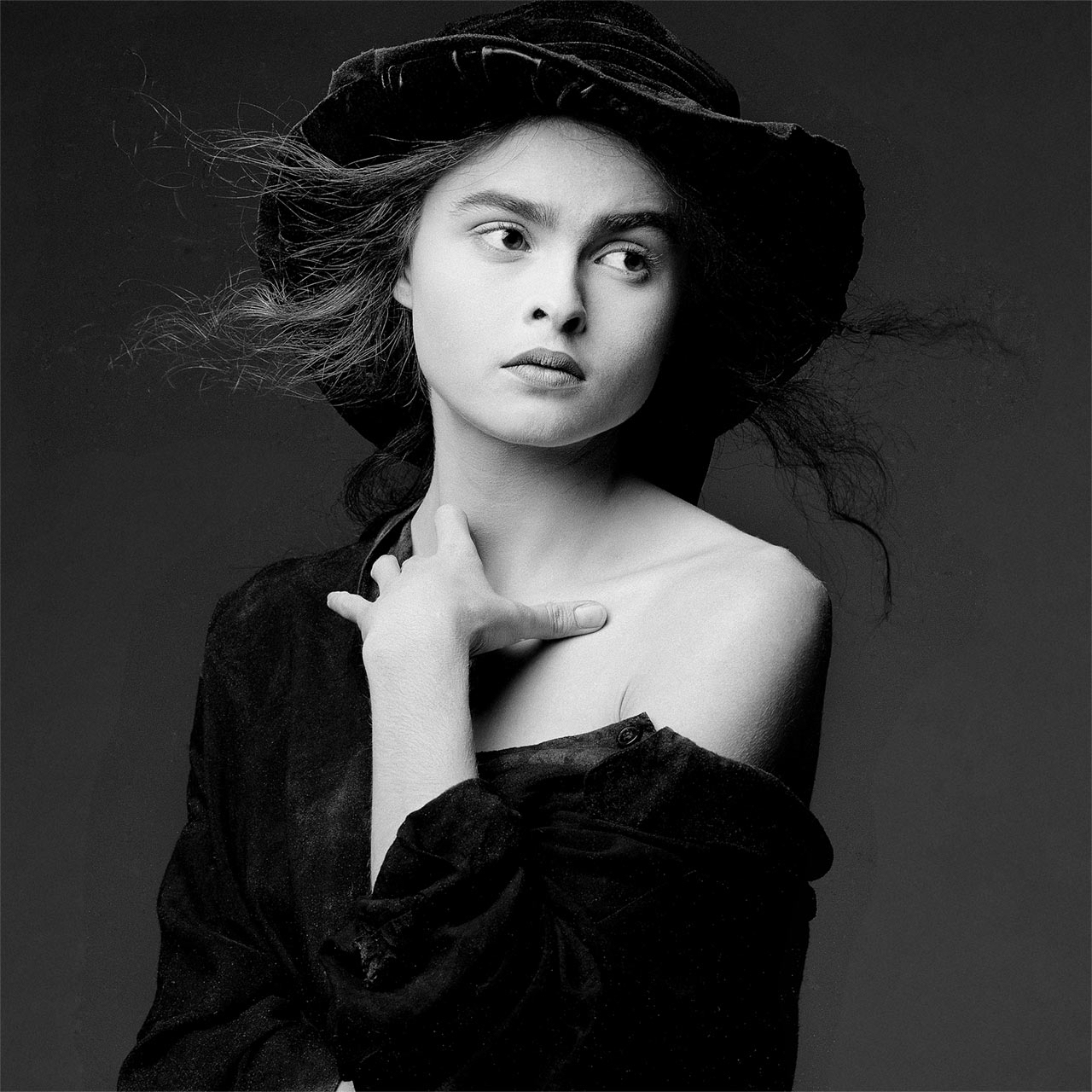 Helena Bonham Carter by Clive Arrowsmith  Available in 3 sizes  Price from 1500 Pund