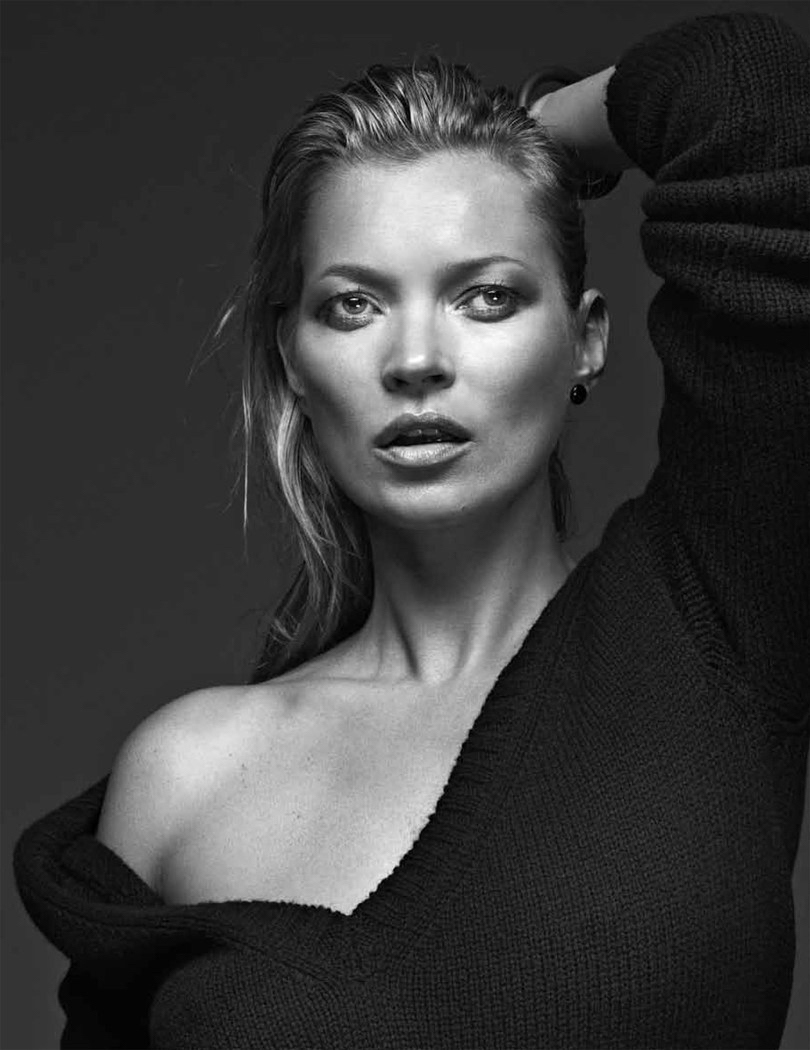 Kate Moss by Bryan Adams