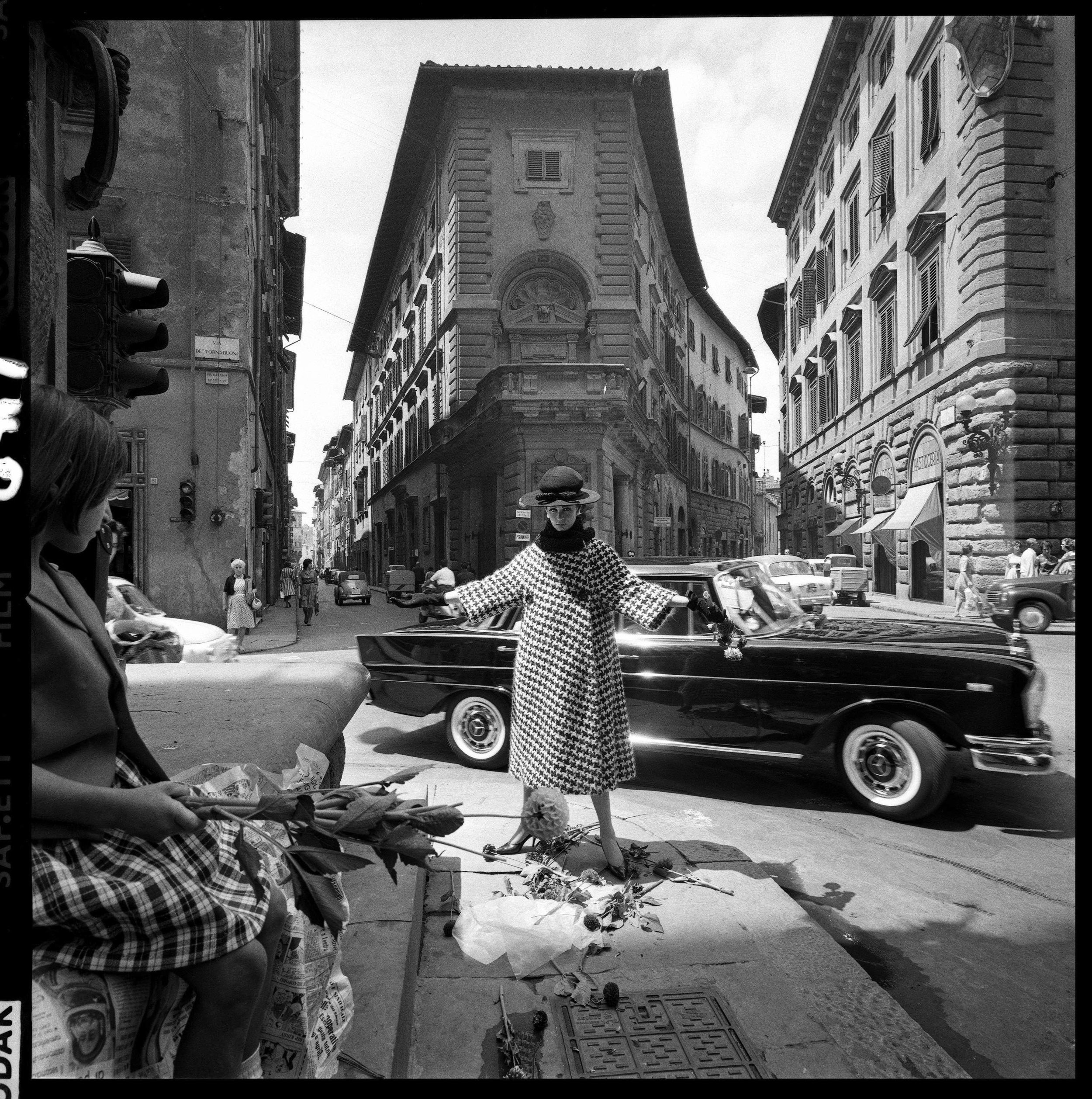 Via Strozzi- FLORENCE by Brian Duffy