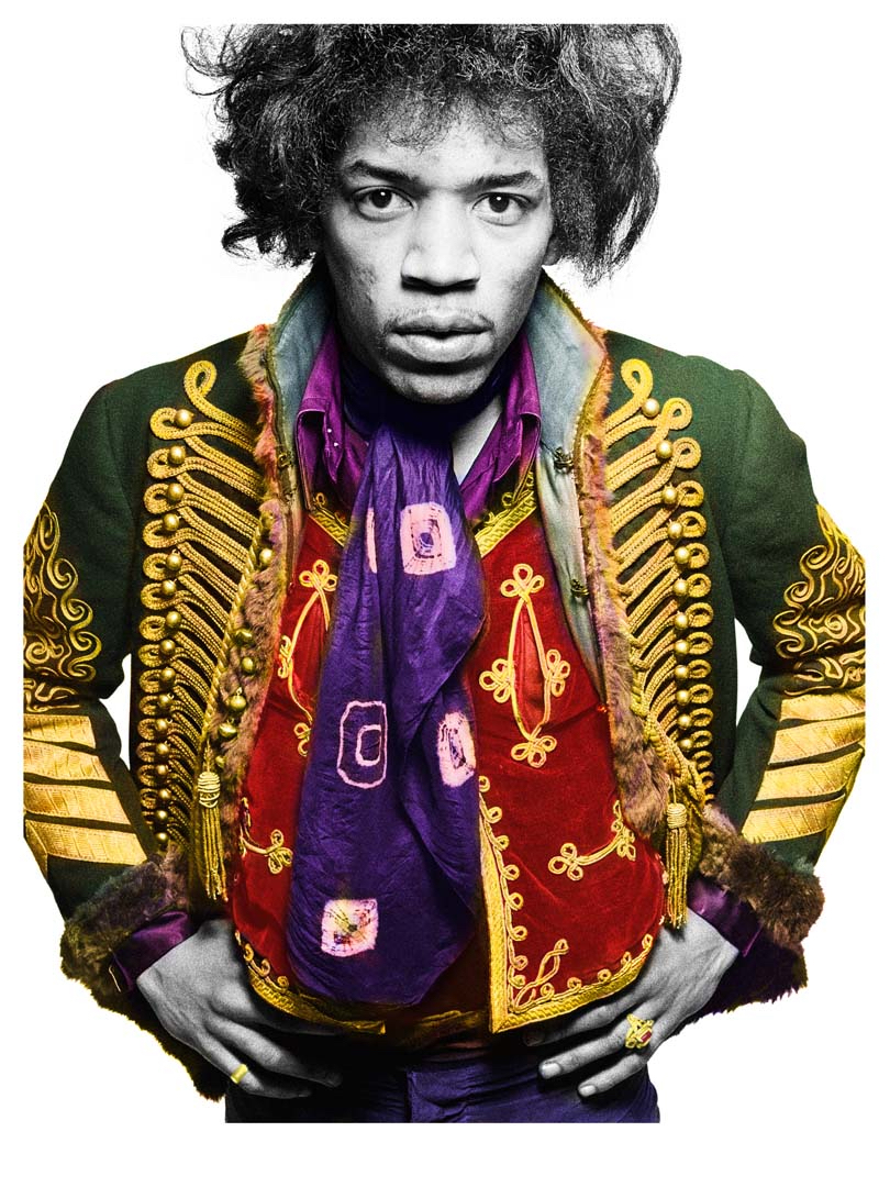 Jimmy Hendrix by Gered Mankowitz