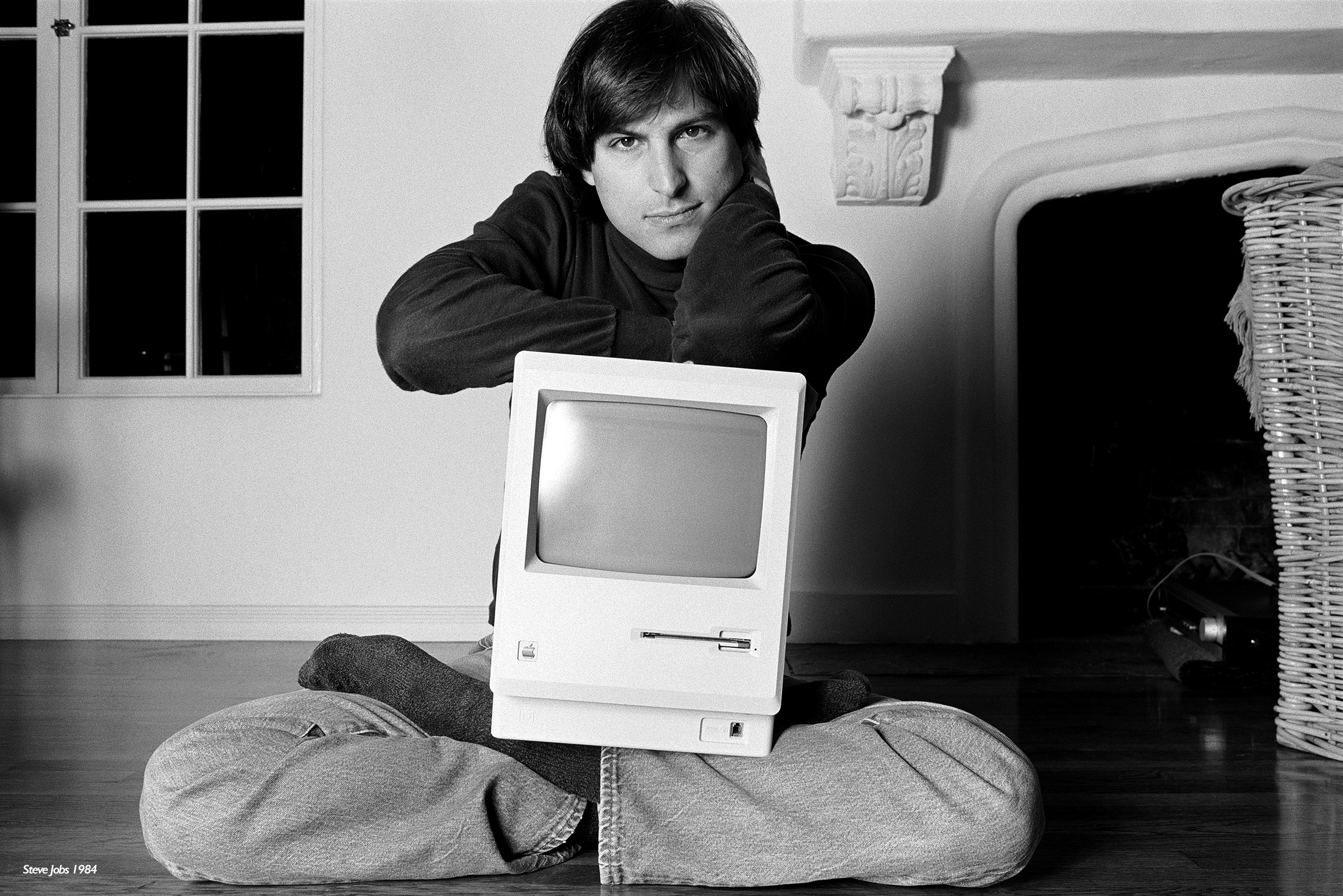 Steve Jobs by Norman Seeff