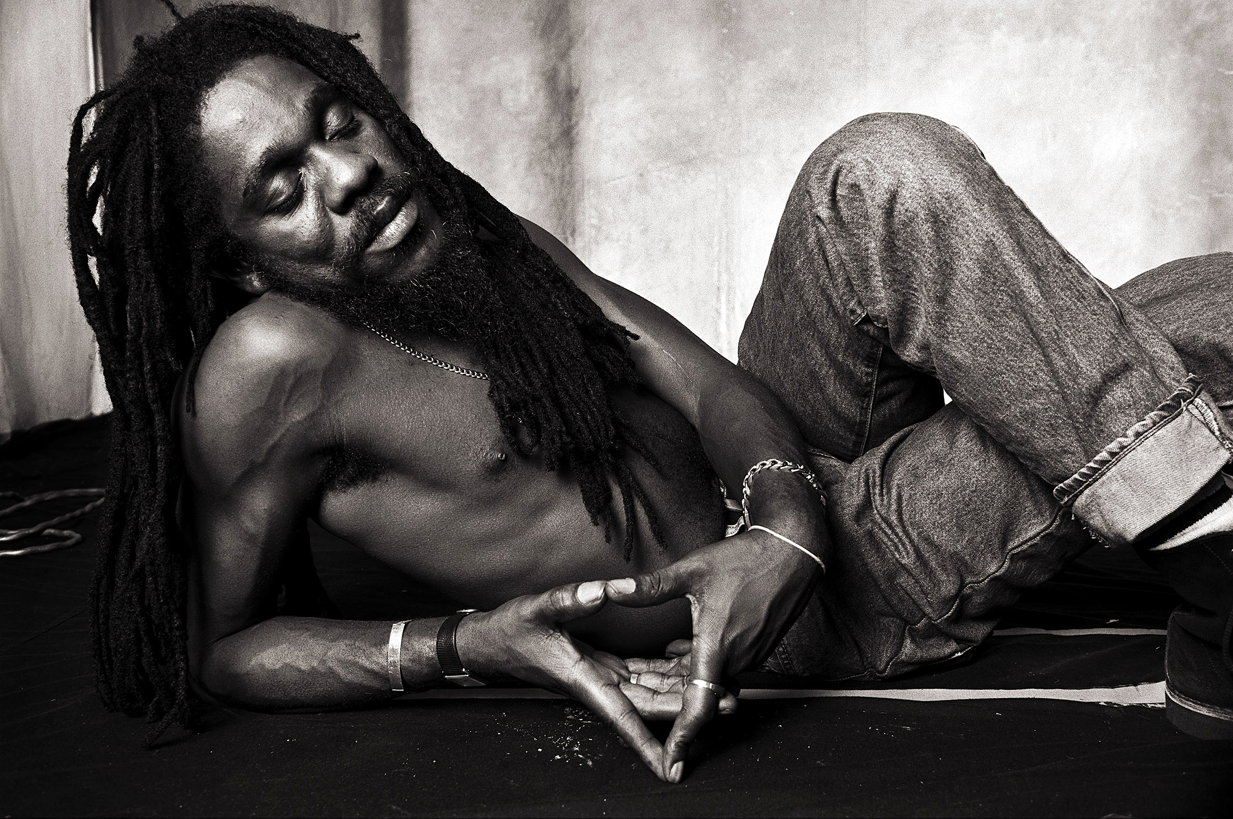 Dennis Brown by Norman Seeff