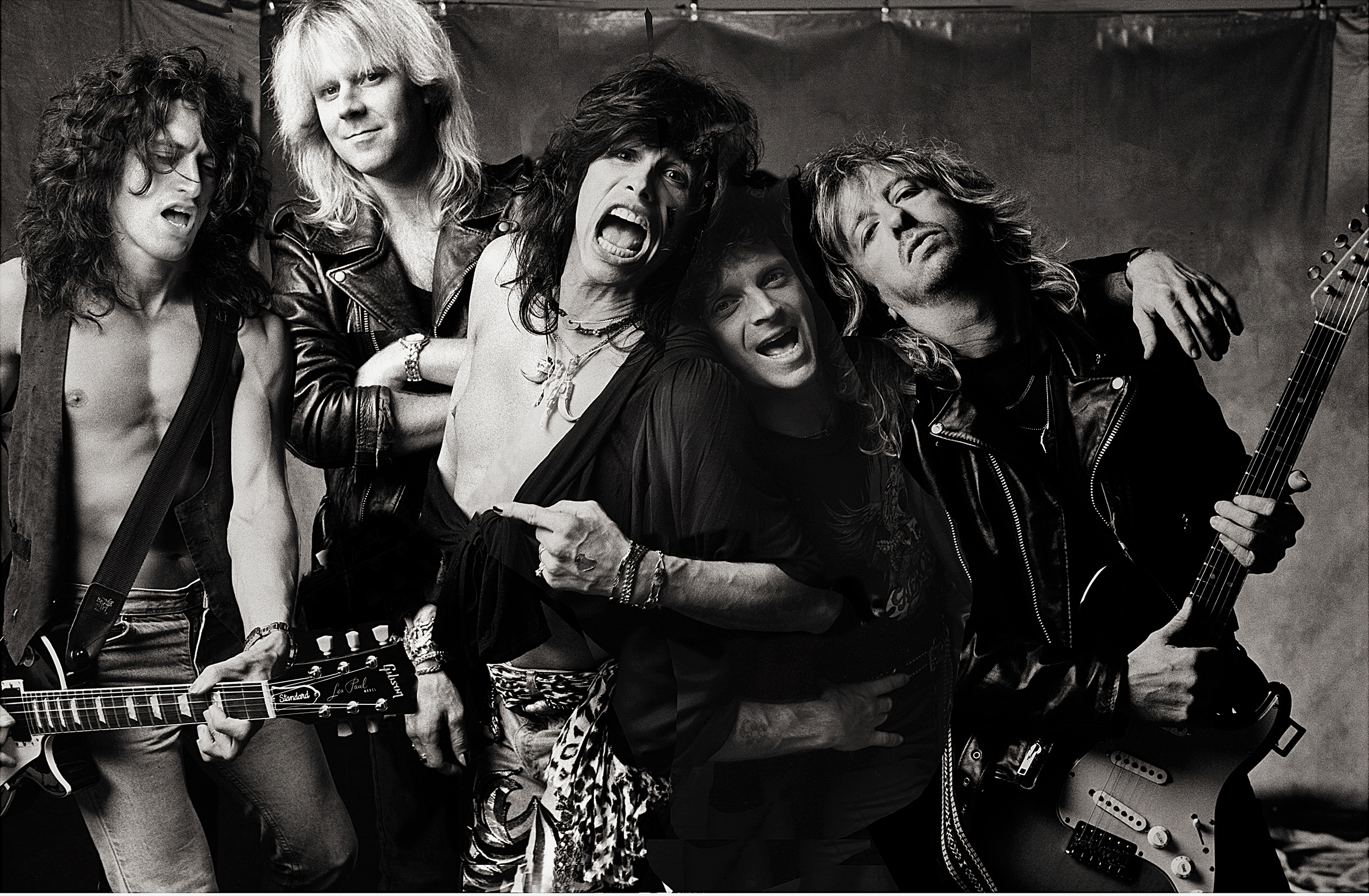 Aerosmith by Norman Seeff