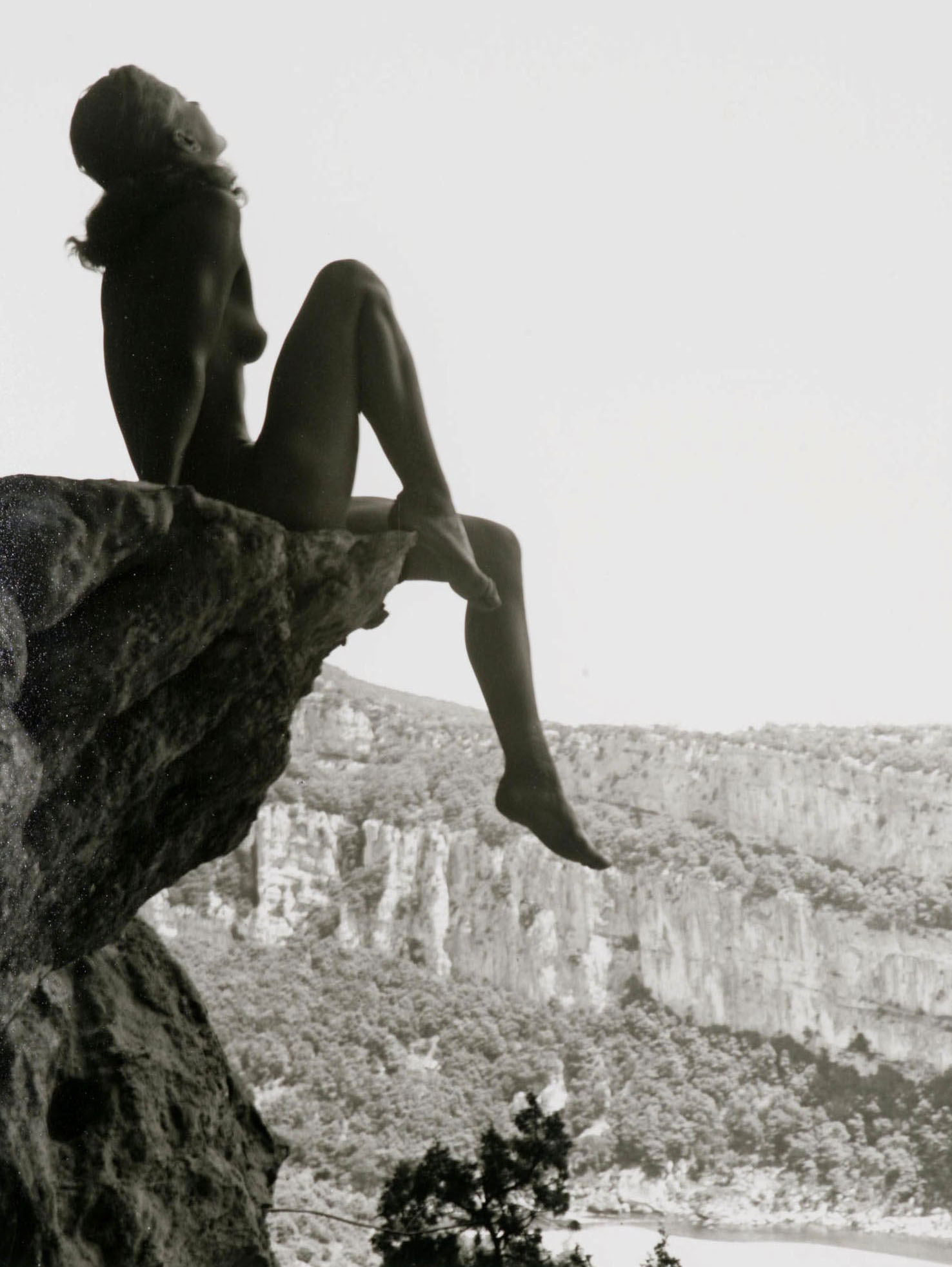 High-dive ardeche 1936 by Fernand Fonssagrives