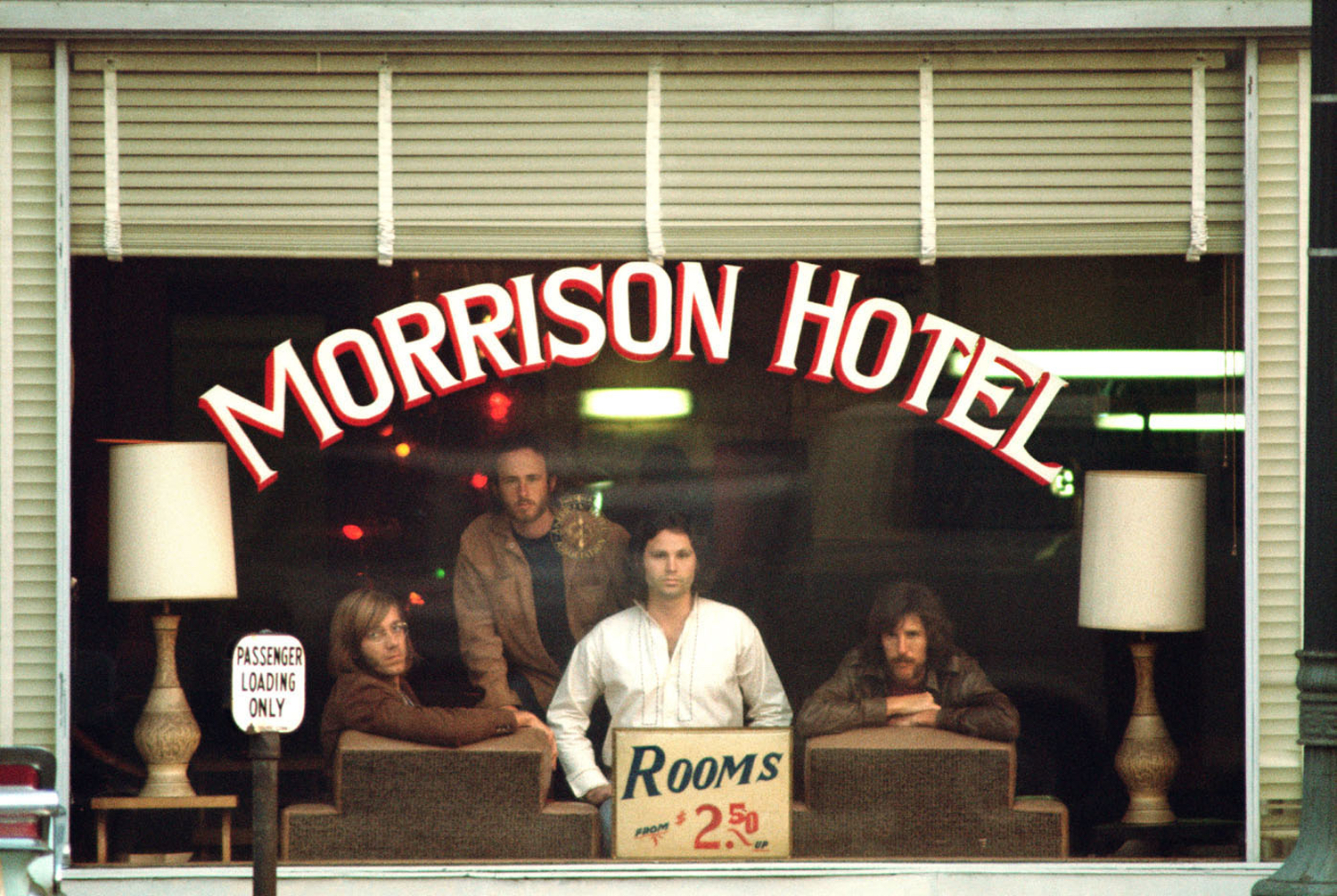 The Doors, Morrison Hotel Outtake, Los Angeles, CA 1969l by Henry Diltz