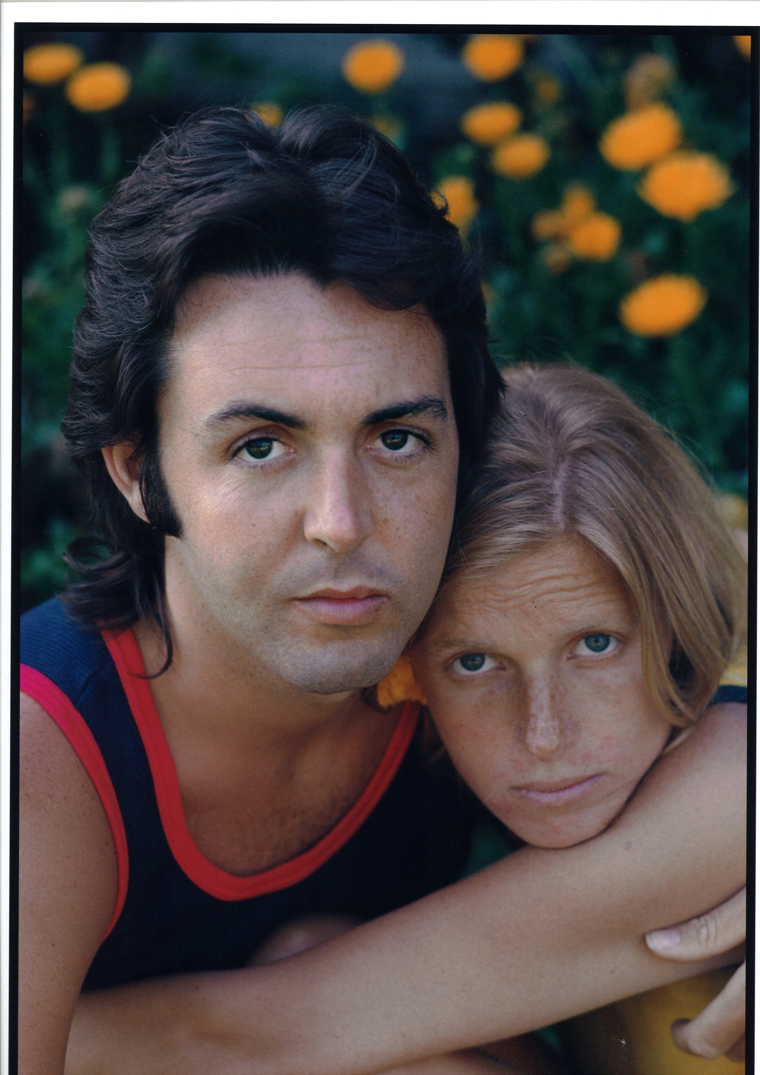 Paul & Linda McCartney, Cover of Life Magazine, 1971 by Henry Diltz