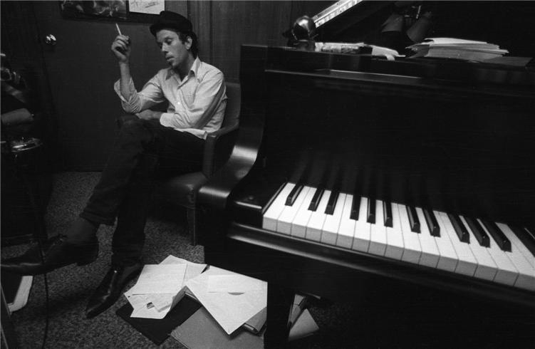 Tom Waits, Hollywood, CA 1980 by Henry Diltz