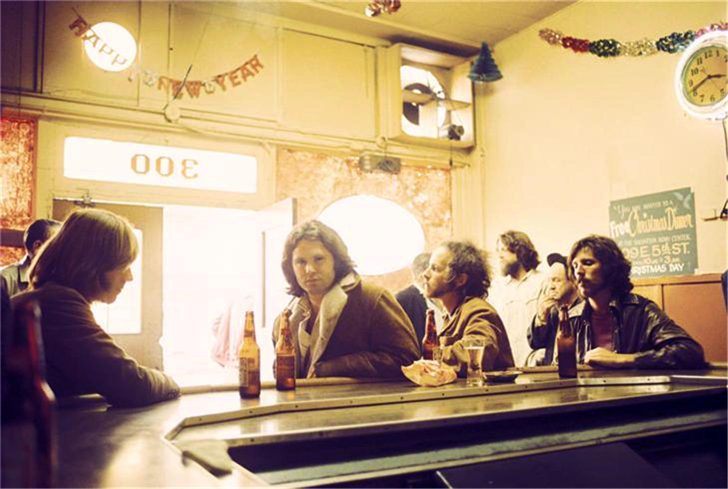 The Doors, Hard Rock Cafe, Los Angeles, CA,1969 by Henry Diltz