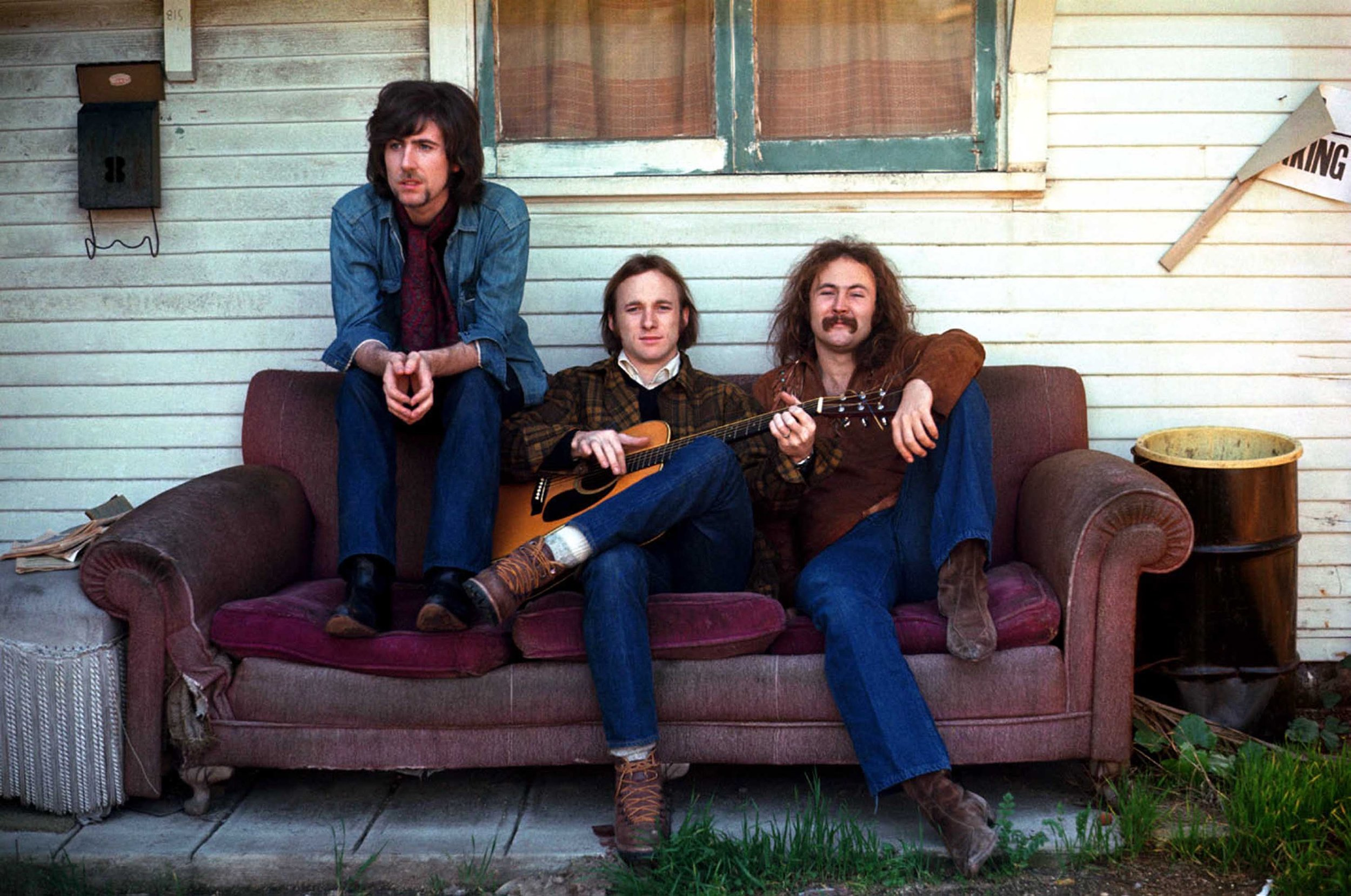 Crosby, Stills & Nash, Los Angeles, CA 1969 by Henry Diltz
