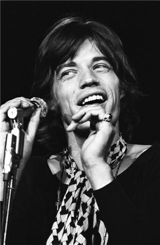 Mick Jagger, The Rolling Stones, Hollywood Bowl, Los Angeles, CA, 1969 by Henry Diltz