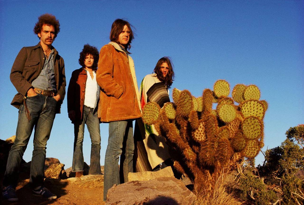 Eagles, Joshua Tree 1972 by Henry Diltz
