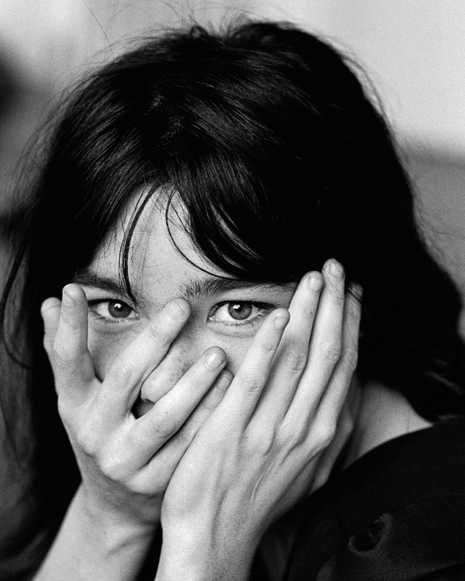 Björk , London 1995 by Jane Bown