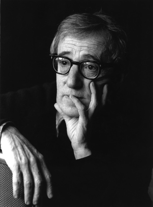Woody Allen by Jane Bown