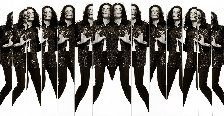 Michael Jackson II, New York City, by Albert Watson 1999  Edition 10, 142x66cms