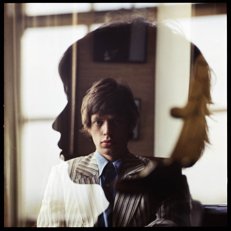 Mick Jagger by Bent Rej