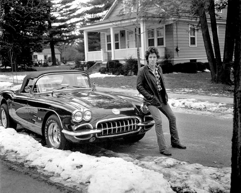 Bruce Springsteen by Frank Stefanko