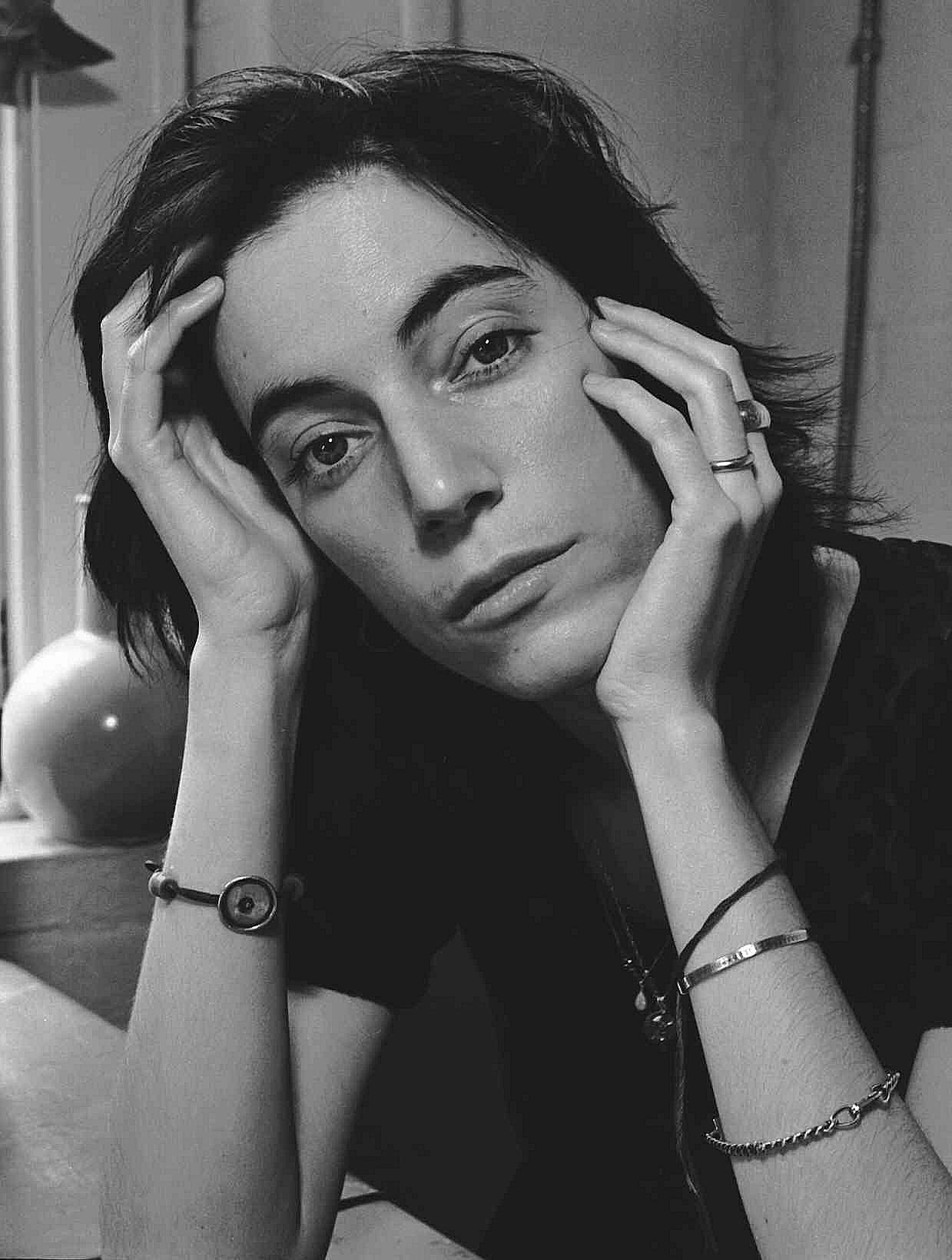 Patti Smith by Frank Stefanko