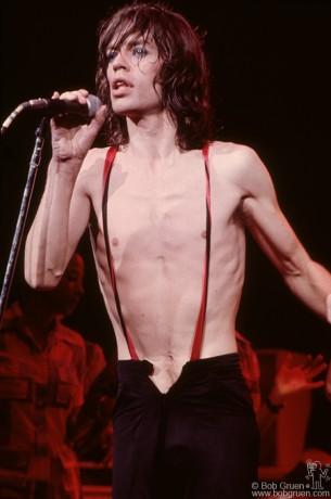 Mick Jagger, NYC - 1975 by Bob Gruen