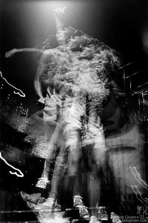 Tina Turner, NYC - 1970 by Bob Gruen