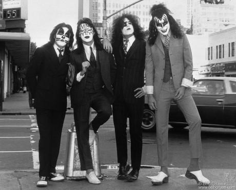 Kiss, NYC - 1974 by Bob Gruen