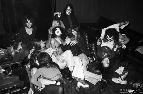 Kiss, NJ - 1974 by Bob Gruen
