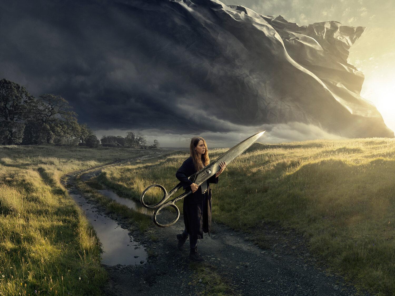Cutting Dawn by Erik Johansson