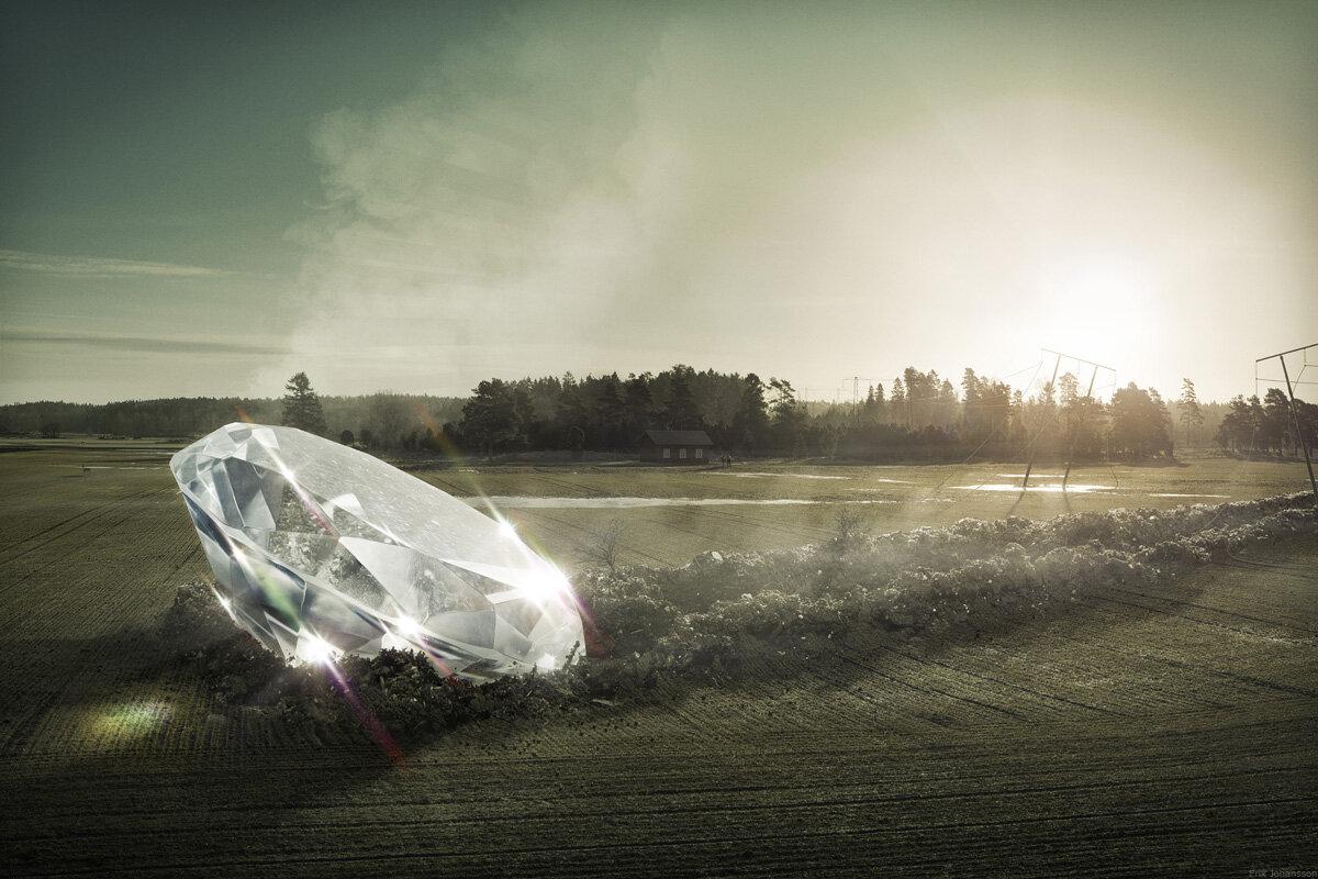 Diamond by Erik Johansson