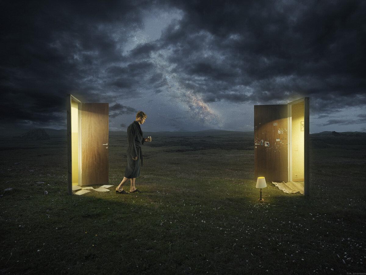 Dreamwalker by Erik Johansson