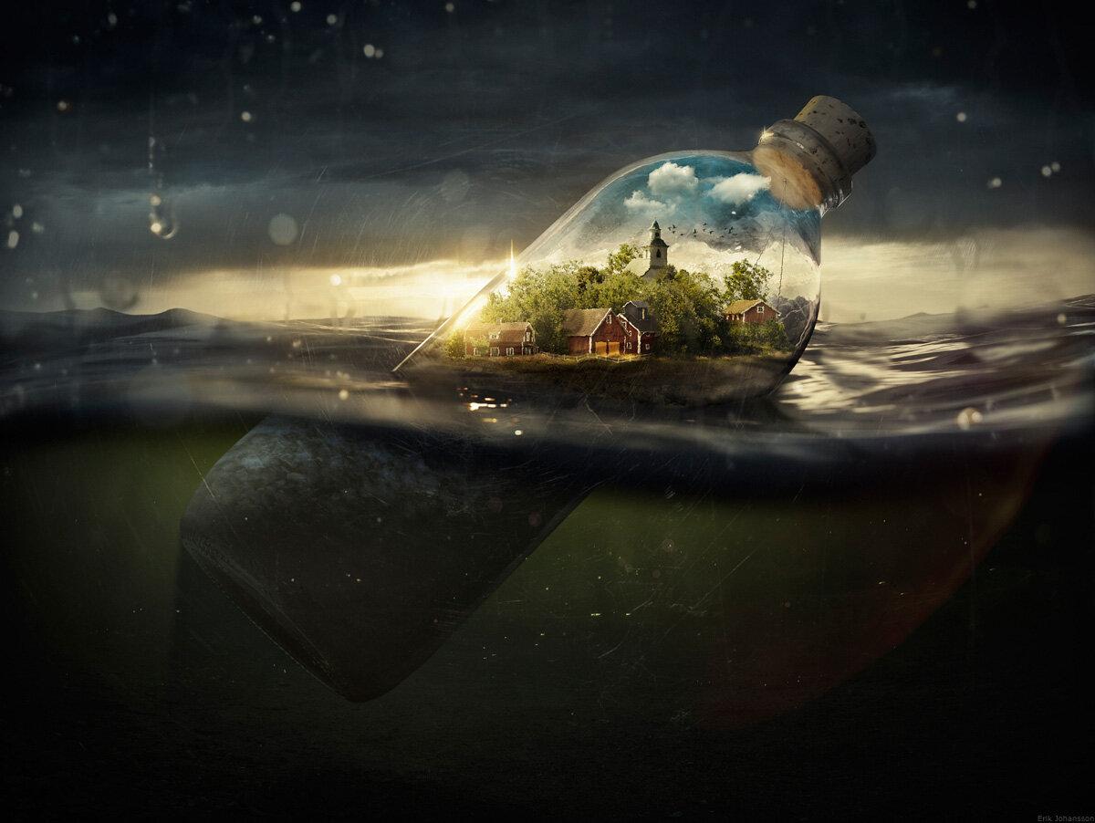 Drifting Away by Erik Johansson