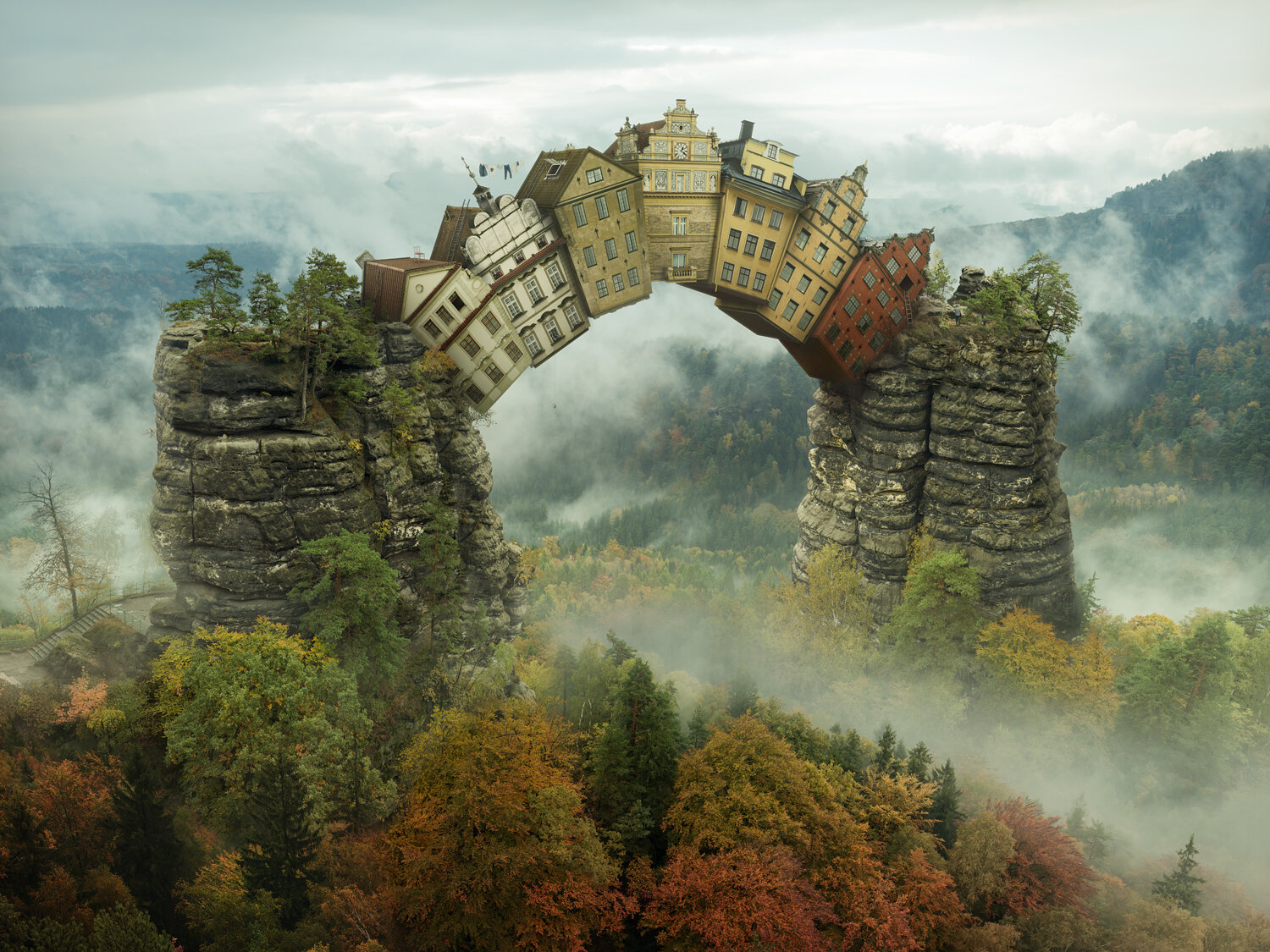 Self Supporting by Erik Johansson