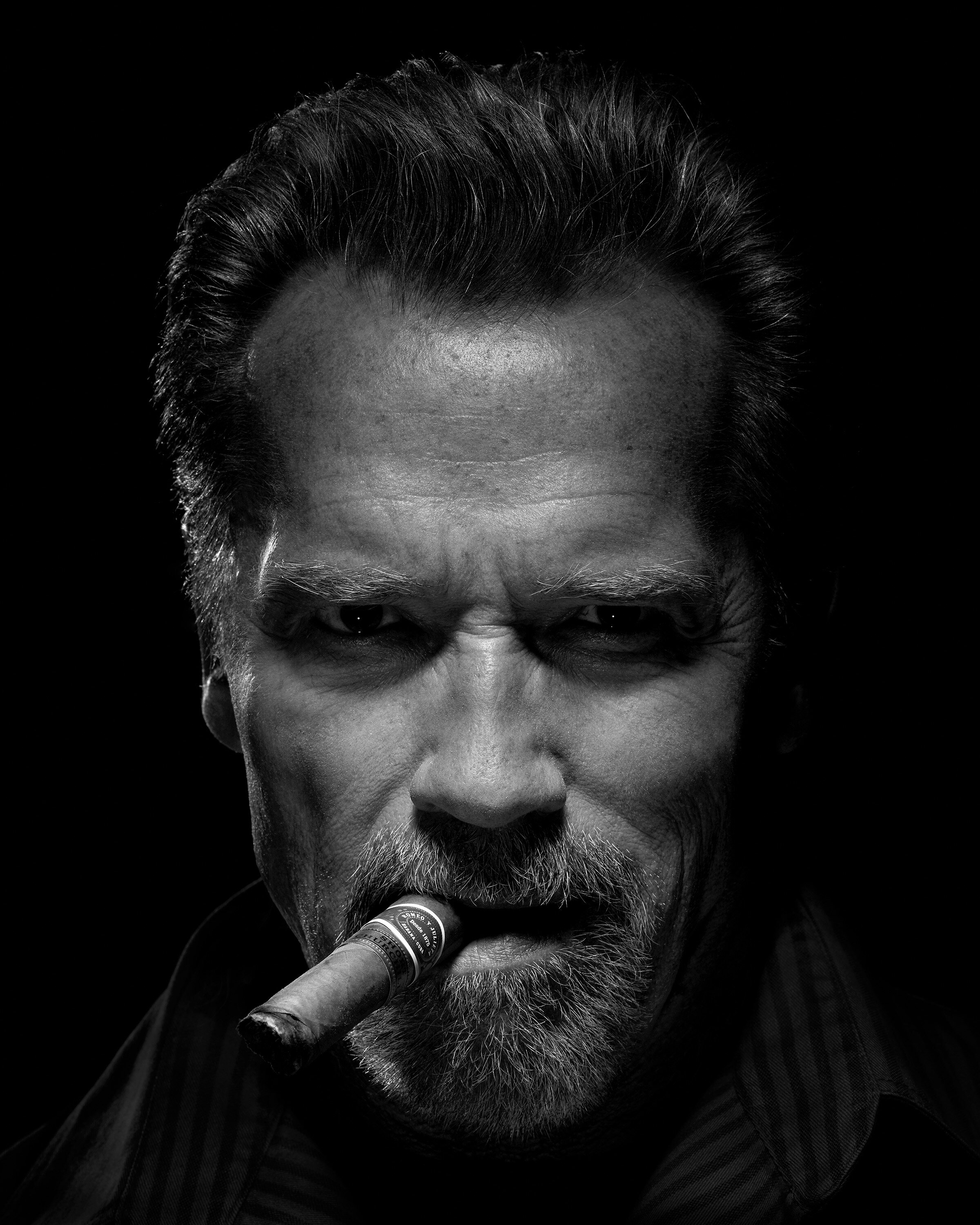 Arnold Schwarzenegger by Timothy White