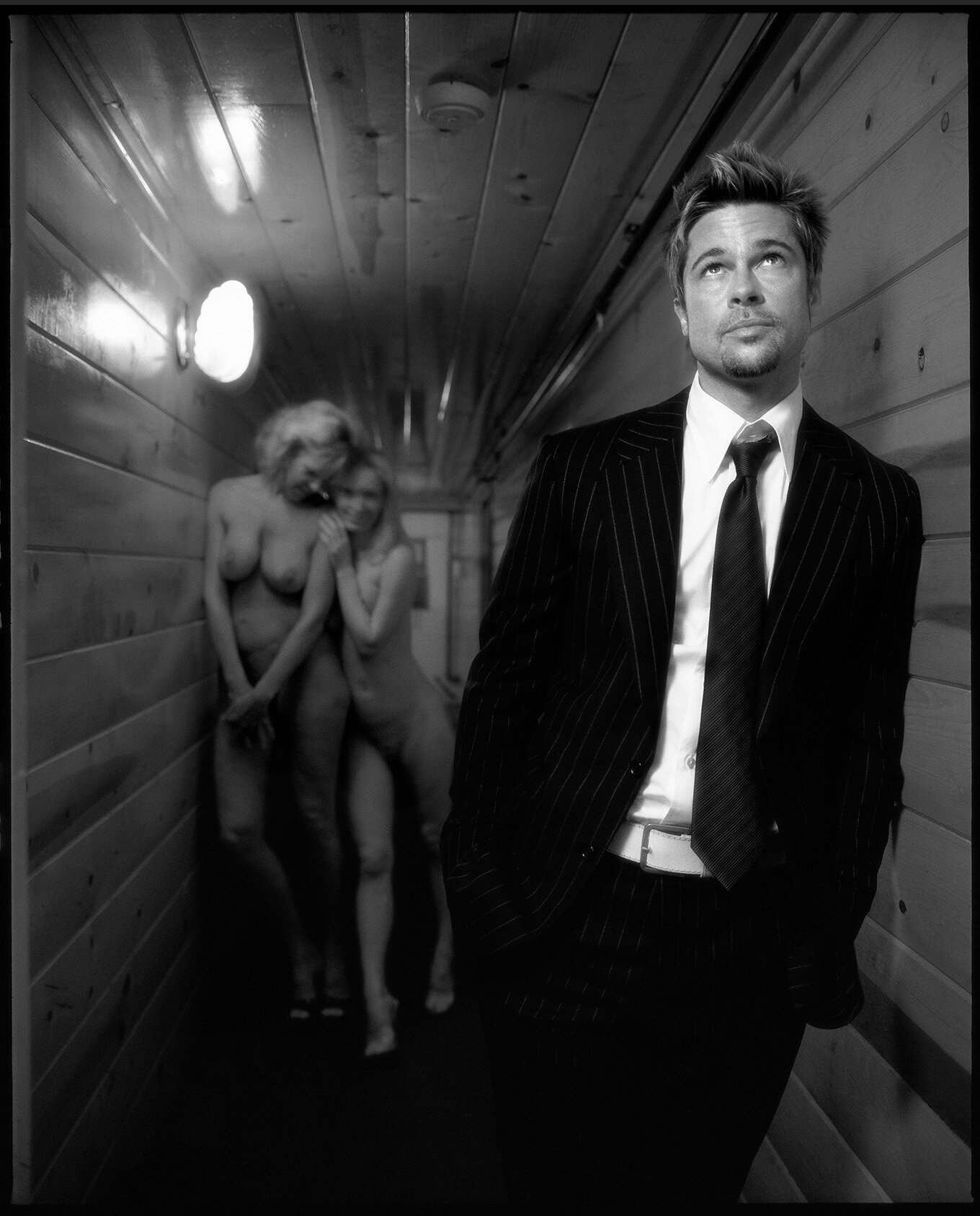 Brad Pitt by Timothy White