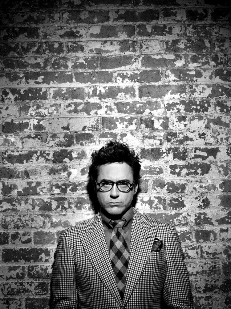 Robert Downey JR by Timothy White