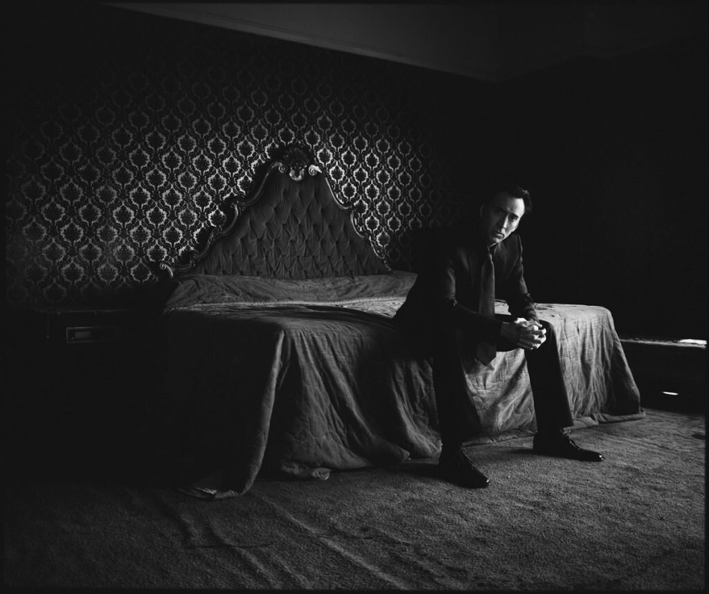 Nicolas Cage by Timothy White