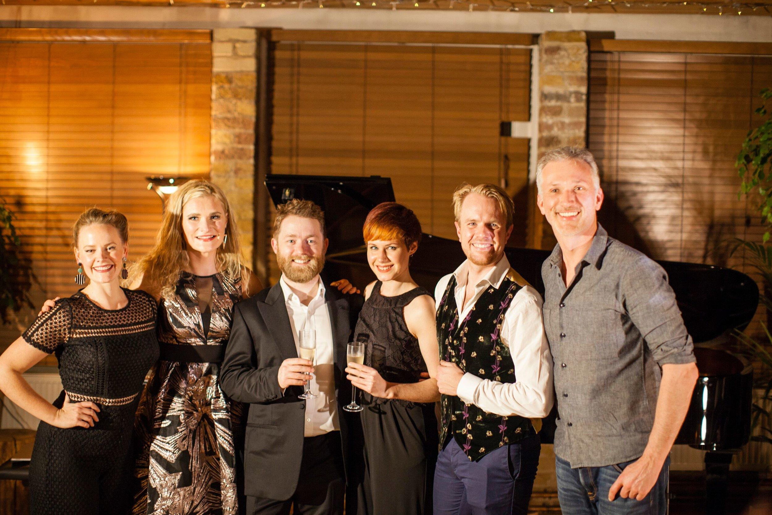 DEBUT at Shoreditch Treehouse Secret Concert Lizzie Holmes, Chad Vindin, Lisa Bucknell, Morgan Pearse.jpeg