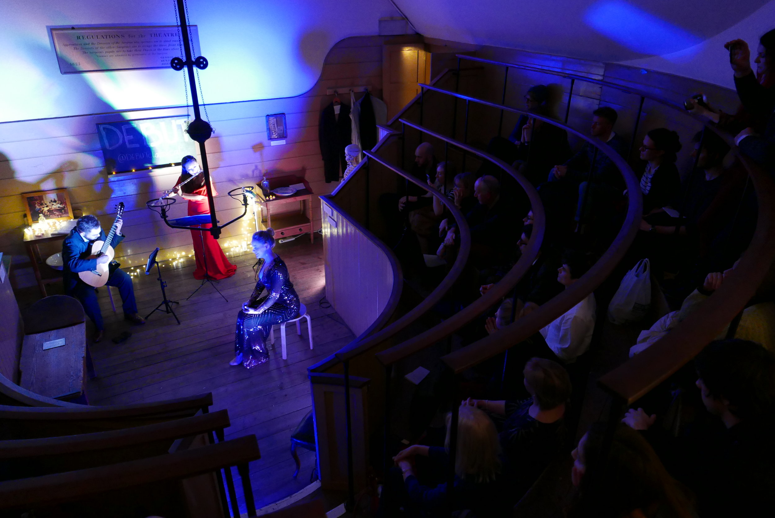 DEBUT at Old Operating Theatre | Feburary 2019 Damian Walker Photograher22.JPG