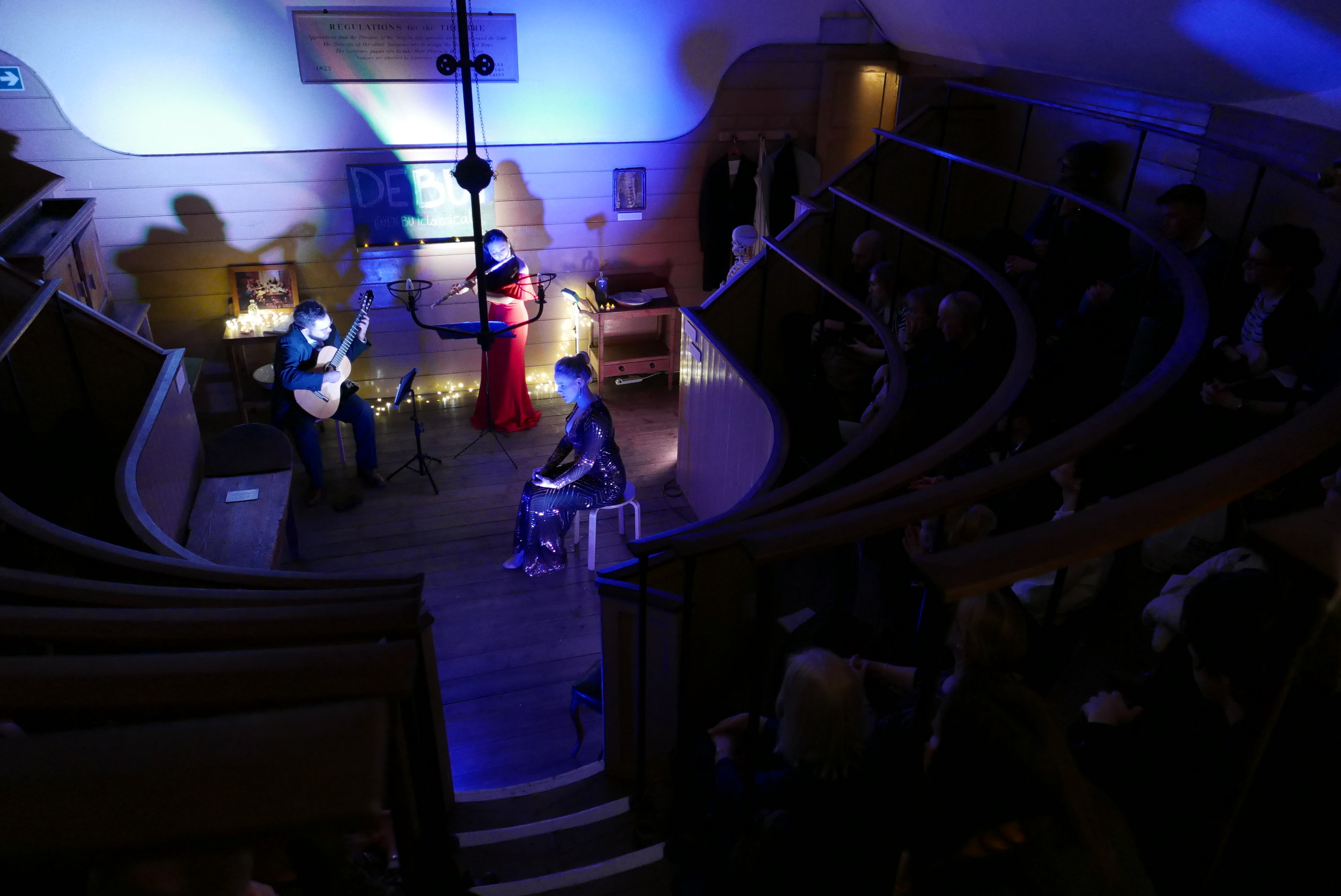DEBUT at Old Operating Theatre | Lizzie Holmes