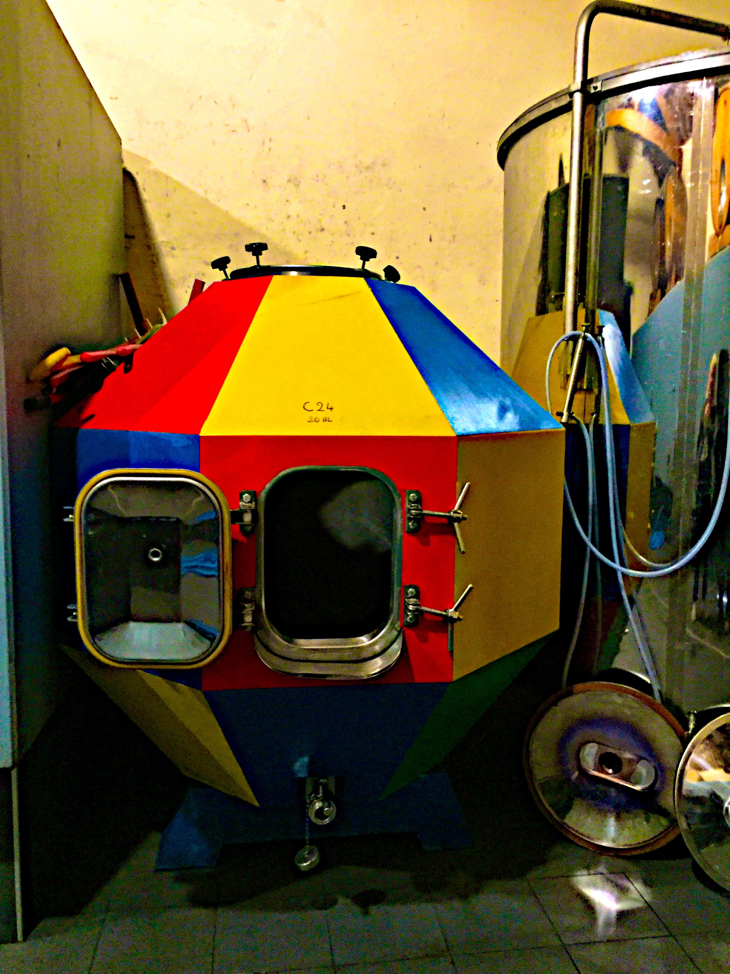 Cuve Elmer