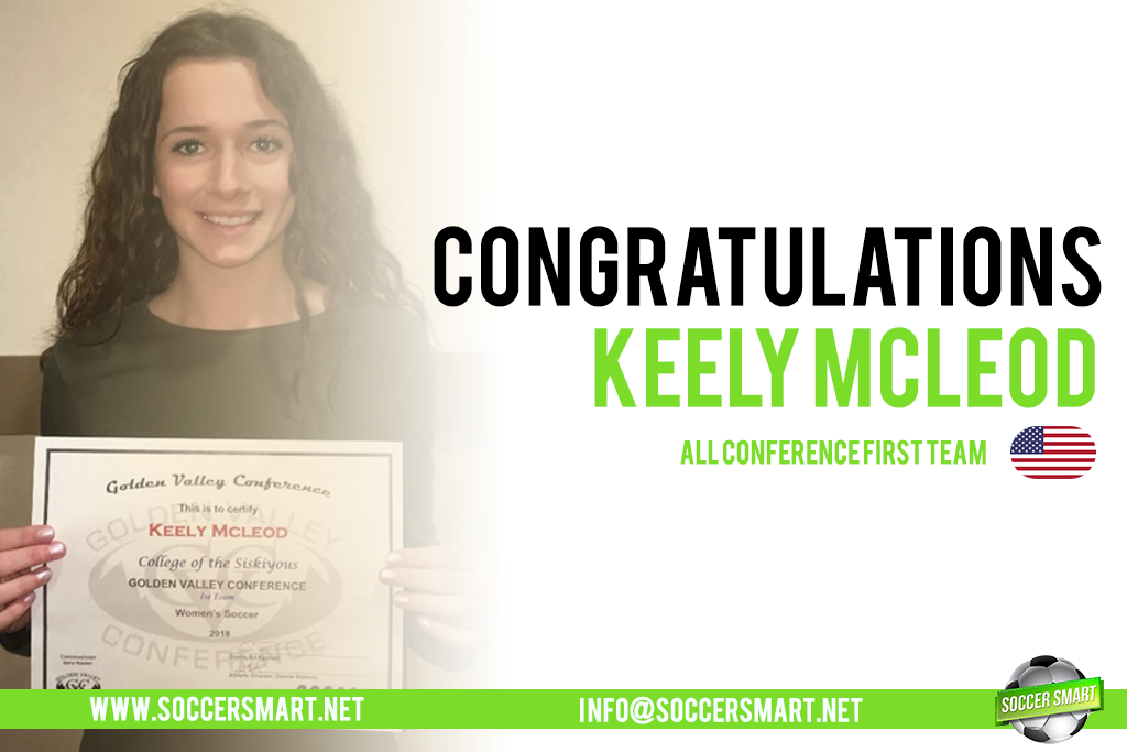 Keely made the All Conference First team!