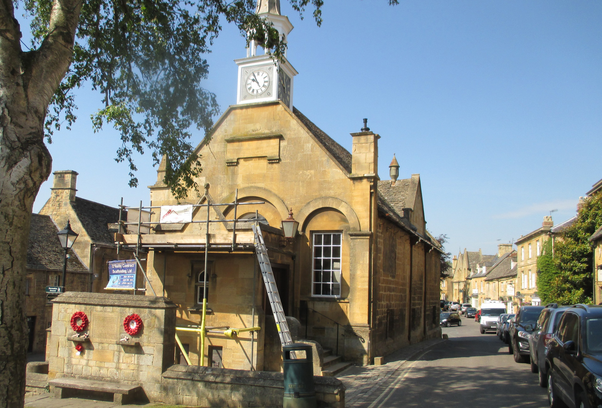 The Town Hall Grade II listed