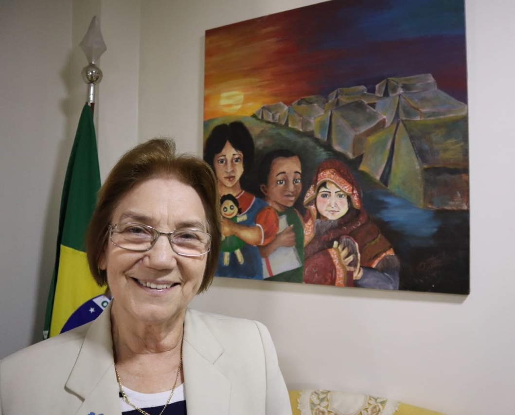 Sister Rosita Milesi from IMDH