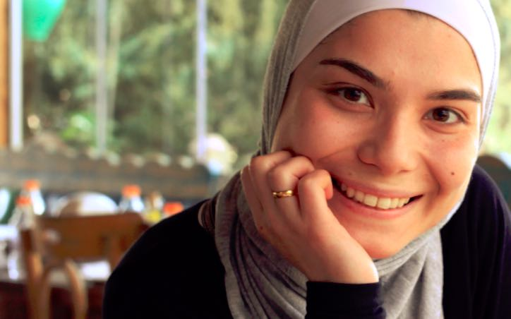 Nada, mathematician living in Lebanon. Photo credit: Talent Beyond Boundaries.
