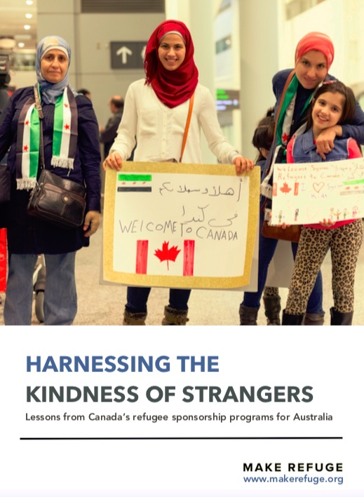 Report: Harnessing the kindness of strangers