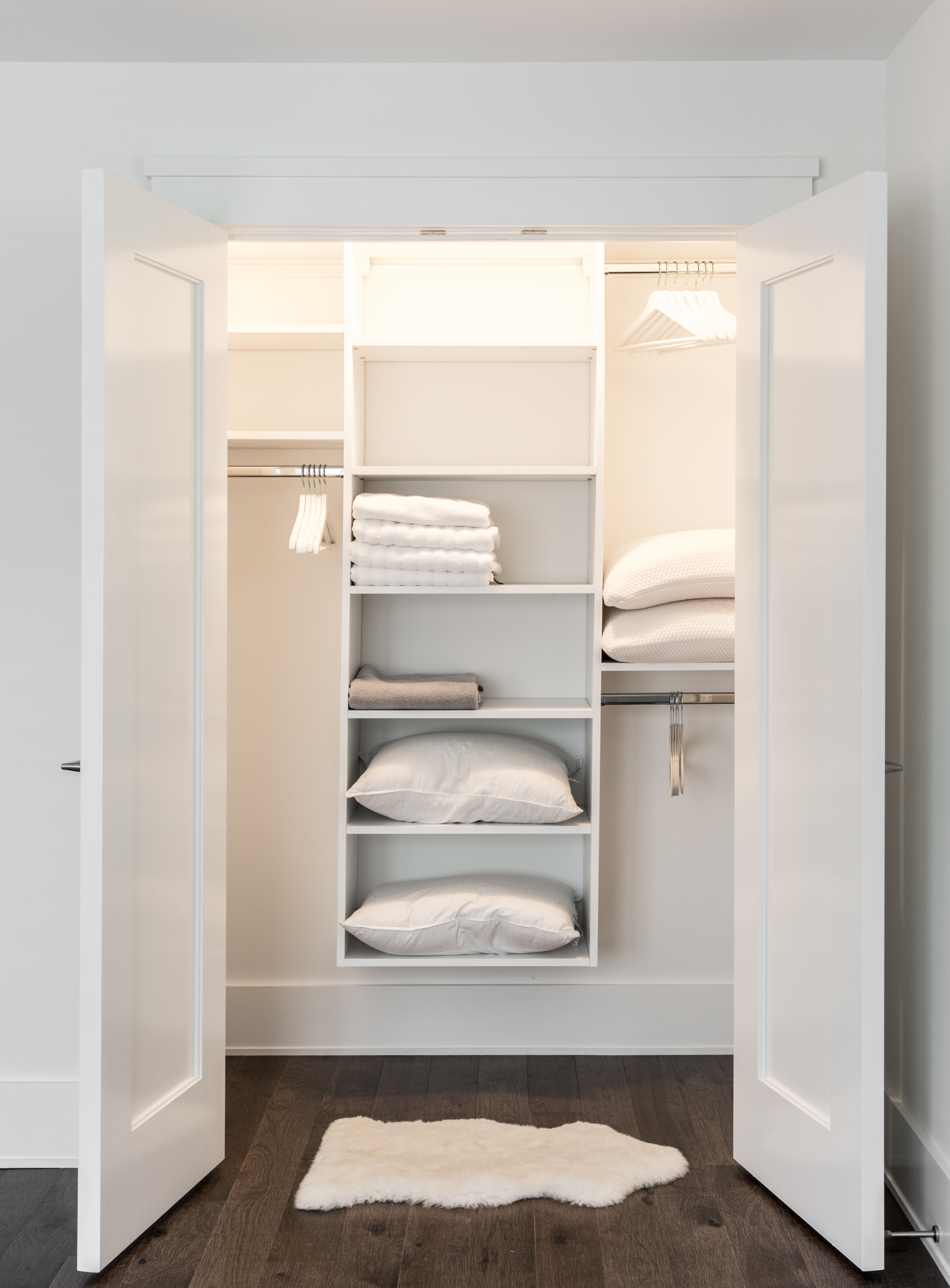 Custom Home Closet Space