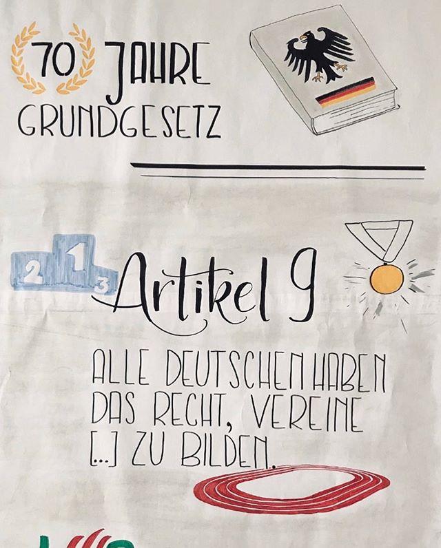 Tennisfreunde Berlin-Mitte ❤️ Grundgesetz