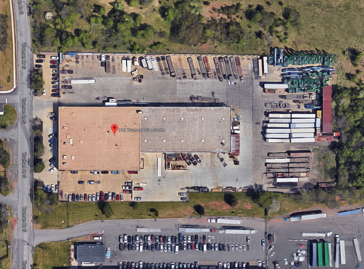 The Izzi Group Industrial Warehouse Facilities in Edison, New Jersey.