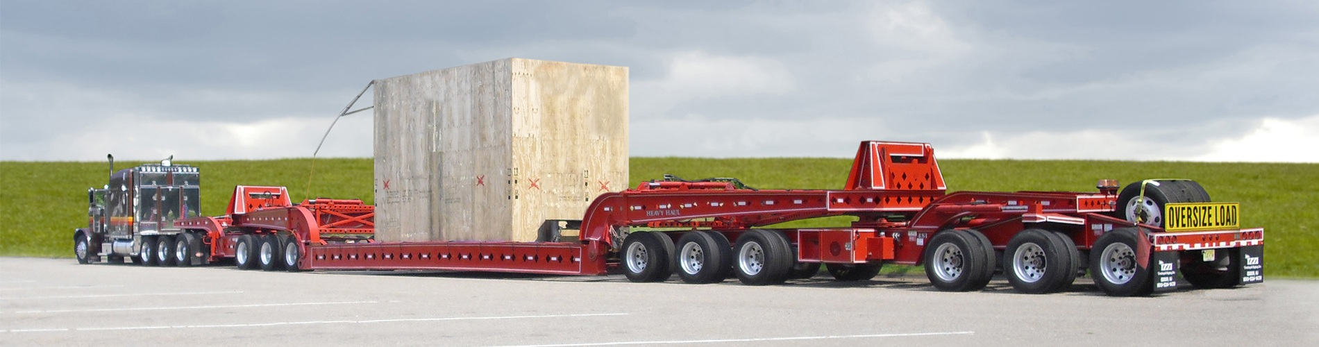 Heavy Haul experts with oversized transportation wide loads trucking company in New Jersey and New York