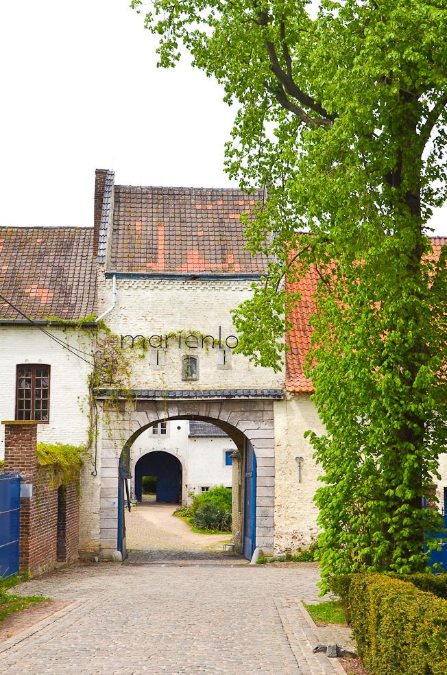 Na een fikse wandeling in de Haspengouwse fruitstreek is het een aanrader om nog even langs te gaan bij Abdij het Mariënlof. Het is een prachtige, rustgevende plek, mooi om eens te bekijken. Je lijkt wel terug te gaan in de tijd, zo rustig, sereen, midden in de natuur. Het klooster biedt een mooie aanblik met de blauwe deuren, poorten en trapleuningen. Voor de liefhebbers is er ook een klein museum over fruitteelt. We zagen zelfs nog een zuster die er nog steeds woonde.  Ook zeker een bezoekje waard, gelegen naast de abdij, is de Vallei van Colen. In een gezellige setting: een ruim terras met uitzicht over de prachtige groene vallei van Colen serveren ze verse streeksapjes en echte Limburgse vlaaien. Zooo lekker. Verder in hun assortiment: verse quiches, soepen en versgebakken hartvormige wafels. Dit moet je geproefd hebben! De perfecte afsluiter van een daguitstapje in Limburg!  After a brisk walk in the Haspengouw fruit region, it is highly recommended to stop by at Abbey Mariënlof. It is a beautiful, relaxing place, beautiful to look at. You seem to go back in time, so quietly, serenely, in the middle of nature. The monastery offers a beautiful sight with the blue doors, gates and banisters. For lovers there is also a small museum about fruit growing. We even saw a nun who still lived there.  Also worth a visit, located next to the abbey, is the Valley of Colen. In a cozy setting: a spacious terrace with views over the beautiful green valley of Colen they serve fresh juices and real Limburgian pies. Sooo nice. Also in their assortment: fresh quiches, soups and freshly baked heart-shaped waffles. You must have tasted this! The perfect end to a day trip in Limburg!  Adres: Abdij Mariënlof Colenstraat 1 3840 (Kerniel) Borgloon