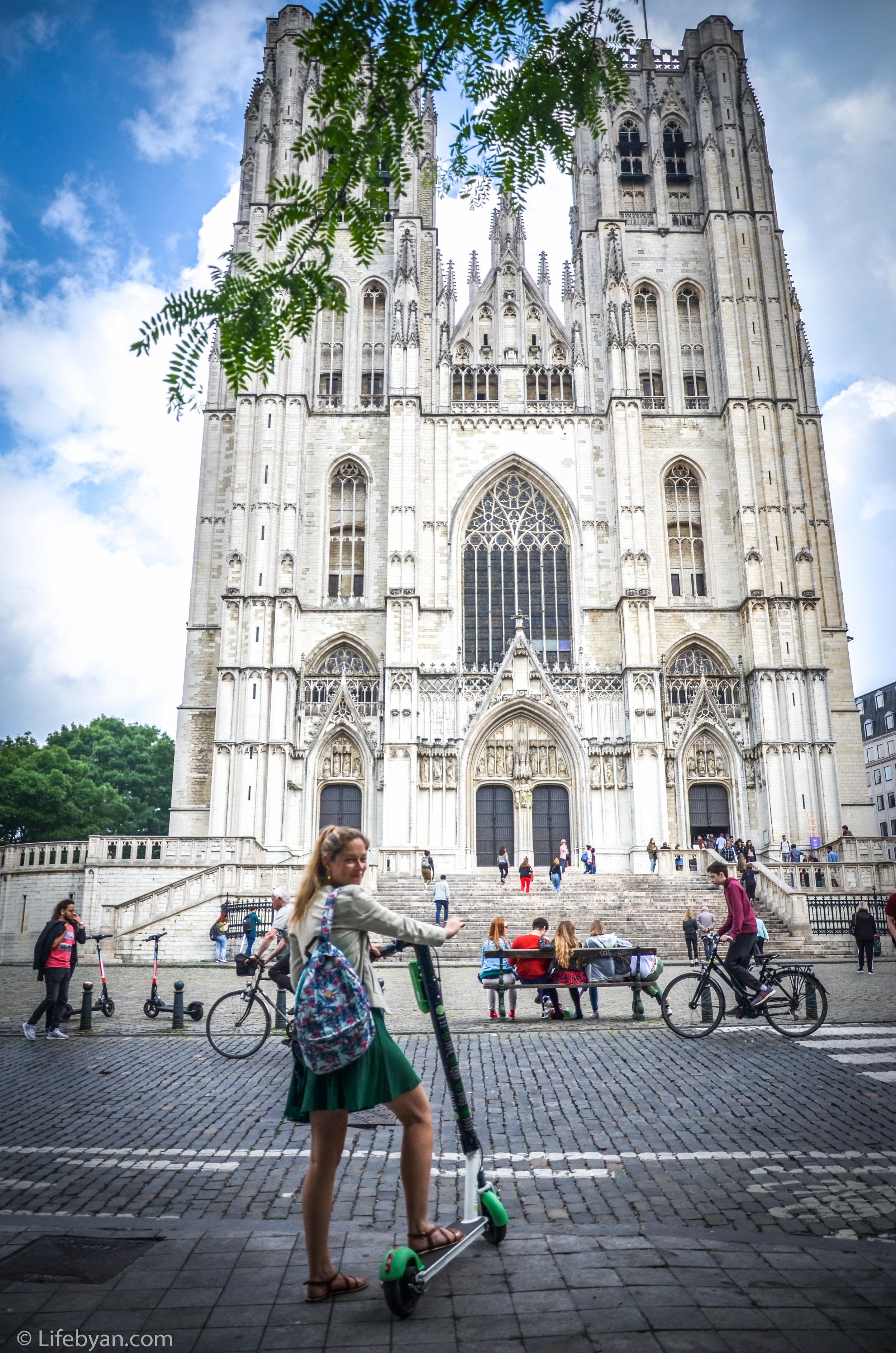 Je kan deze toffe steps huren om Brussel mee te verkennen. Cool toch?