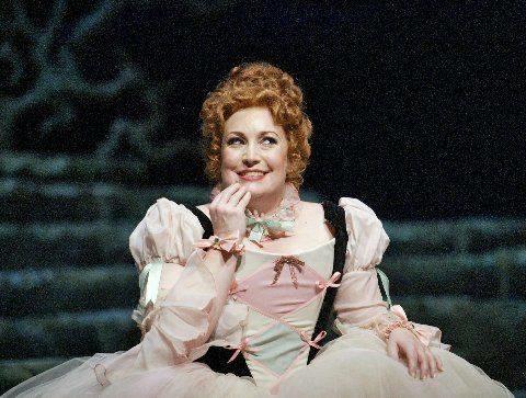 Zerbinetta in R. Strauss' Ariadne auf Naxos
